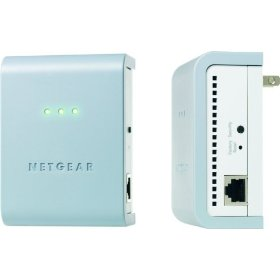 netgear powerline adapter showing LEDs,Security Button and Ethernet Port